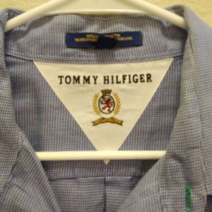 Tommy Hilfiger small checked size 17 shirt